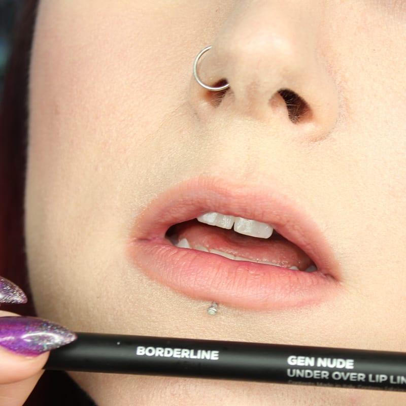 bareMinerals Gen Nude Lipsticks - Borderline Lip Pencil swatch