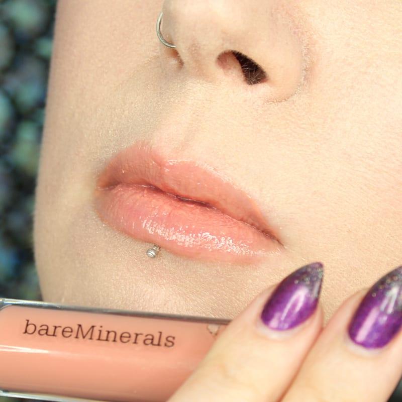bareMinerals Gen Nude Lipsticks - Popular Buttercream Lipgloss swatch