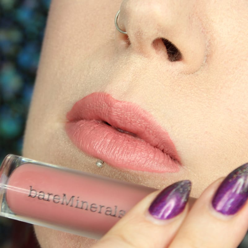 bareMinerals Gen Nude Lipsticks - Swag Matte Liquid Lipcolor swatch