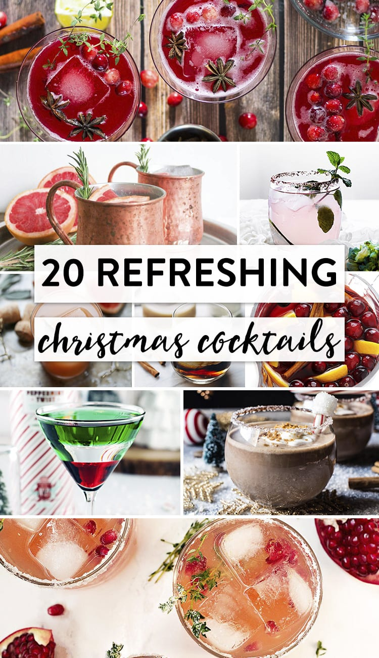 20 Refreshing Christmas Cocktails
