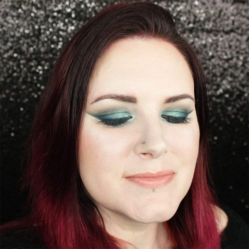 Kat Von D MetalMatte Cruelty-Free Tutorial Smoky Teal