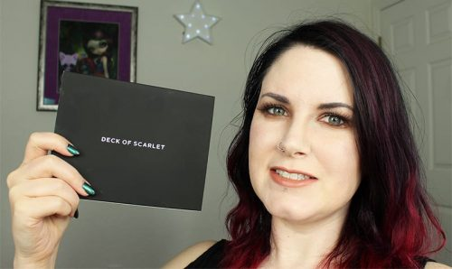 Deck of Scarlet Makeup Subscription Box