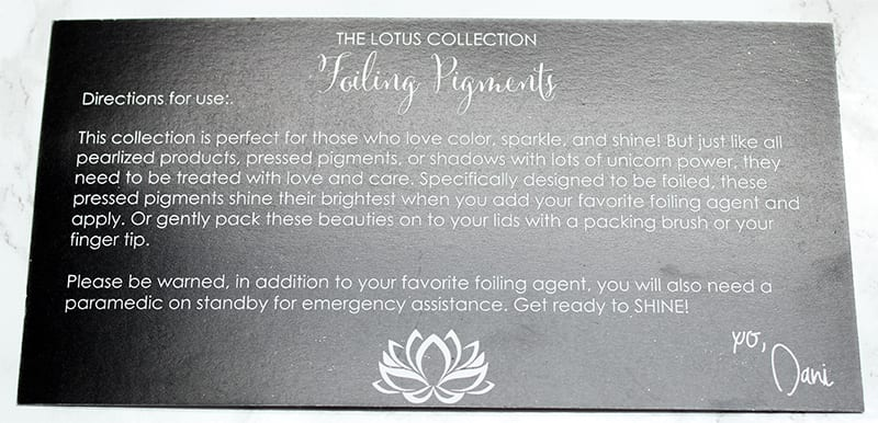 Ittse CoffeeBreakWithDani Lotus Collection Review, Swatches, Tutorial, Look