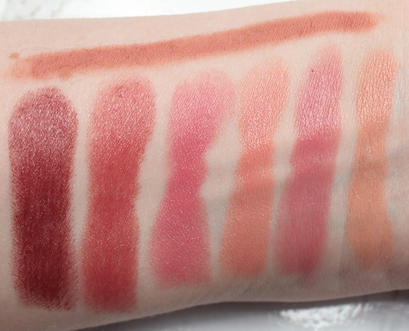 bareMinerals Gen Nude Lipsticks - Radiant Lipstick Swatches