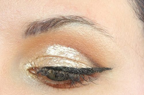 Glam Glitter Cut Crease Winged Liner Tutorial