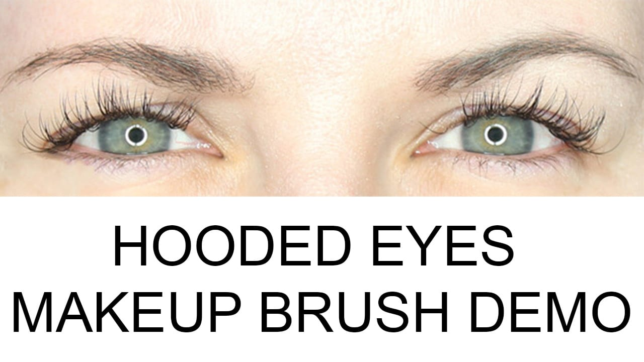 What Are Hooded Eyes Makeup Brush Demo Video For Hooded Eyes