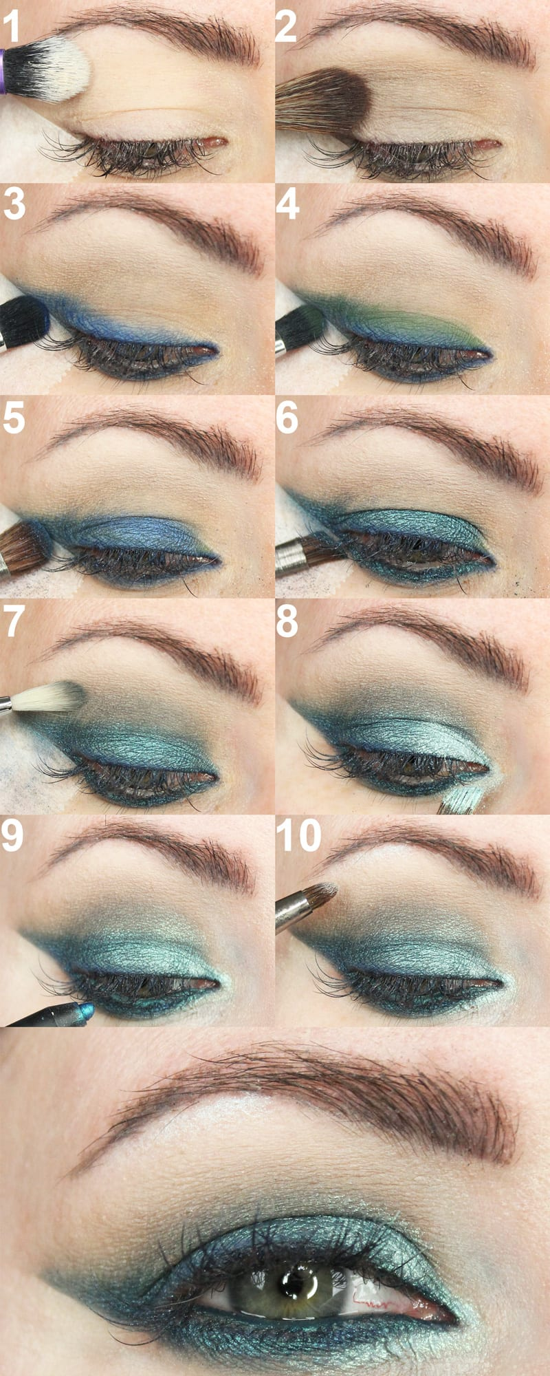 Kat Von D MetalMatte Smoky Teal Cruelty-FreeTutorial