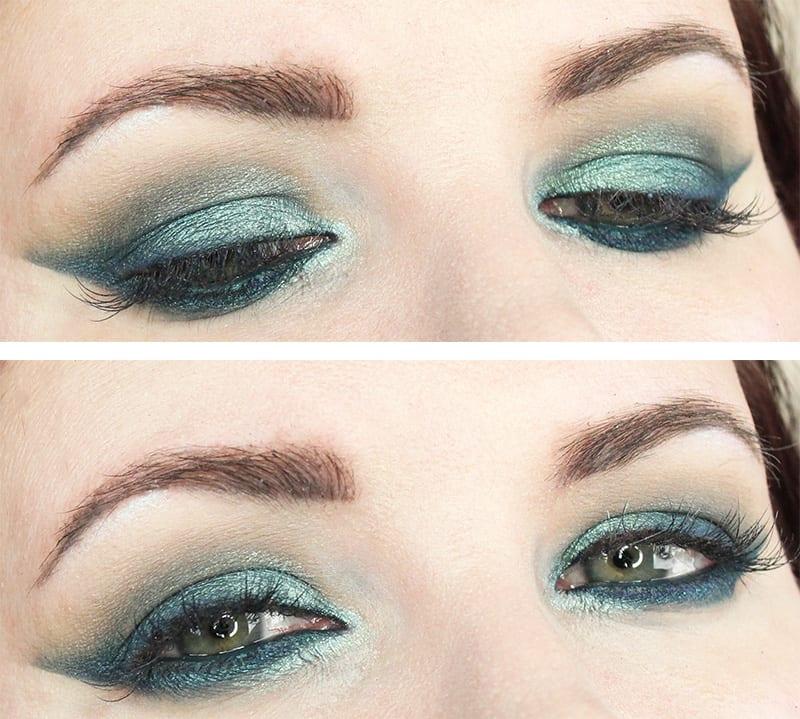 Kat Von D Metalmatte Tutorial Smoky Teal Hooded Eye Makeup Tutorial