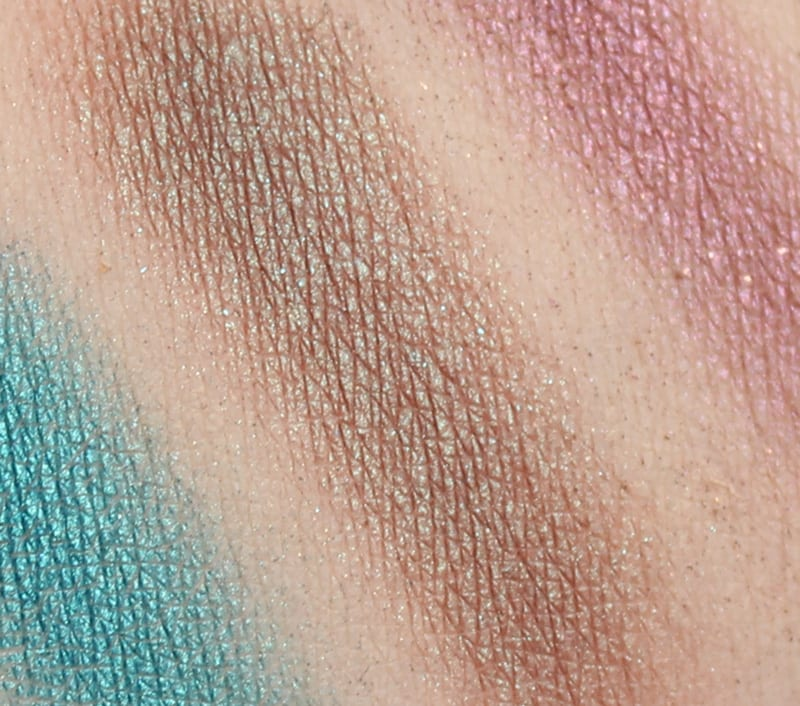 Urban Decay Afterdark Palette Review - Lounge swatch