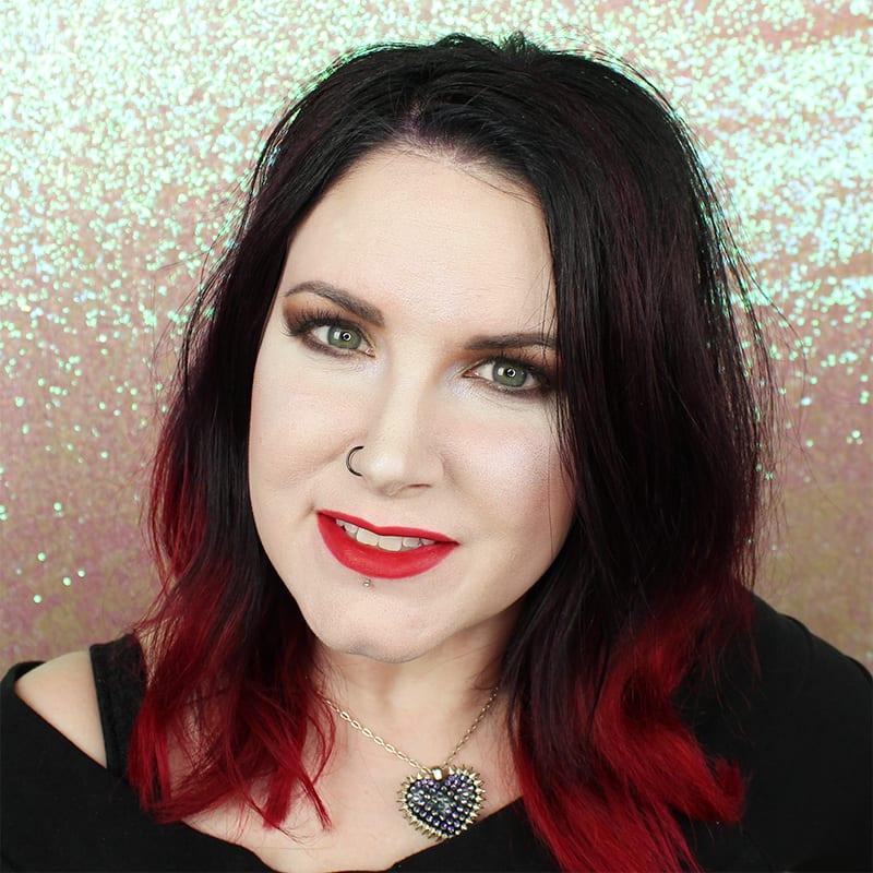 Wearing Makeup Geek Beauty Queen on Pale Skin