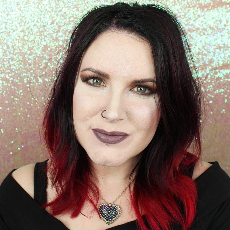 Wearing Makeup Geek Misfit on Pale Skin