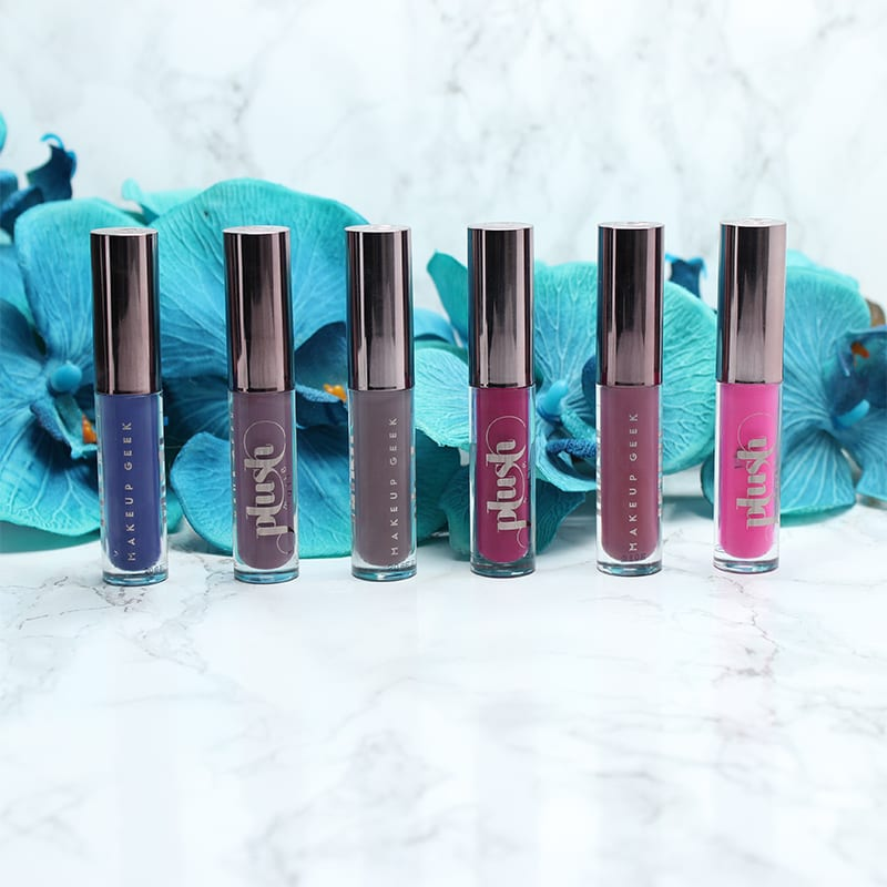 Makeup Geek Plush Lip Mattes