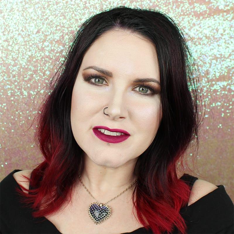 Wearing Makeup Geek Rocker Chick on Pale Skin
