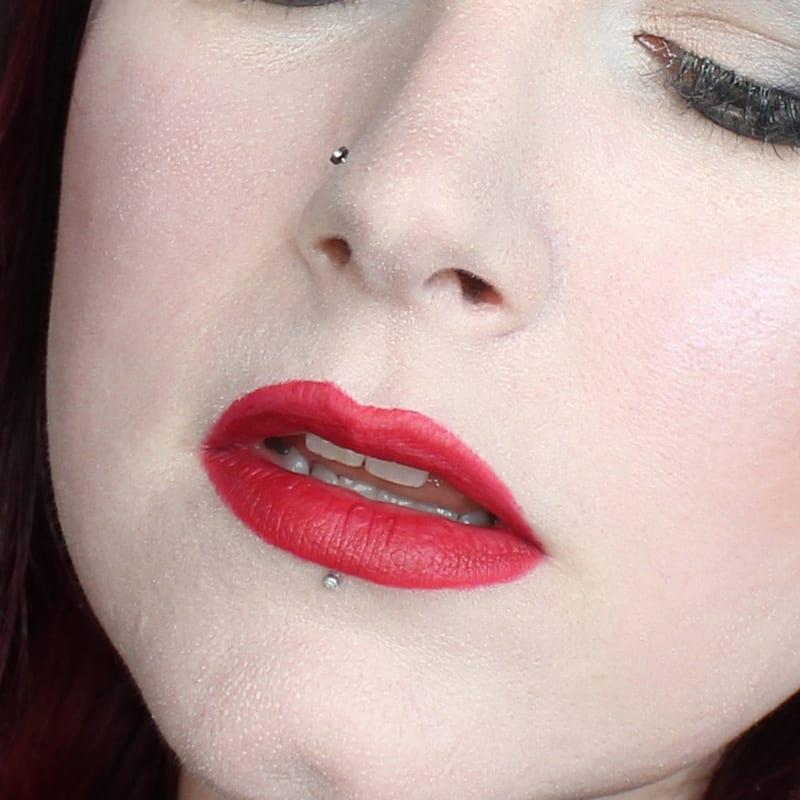 bareMinerals Gen Nude Lipsticks - Naughty Matte Liquid Lipcolor swatch