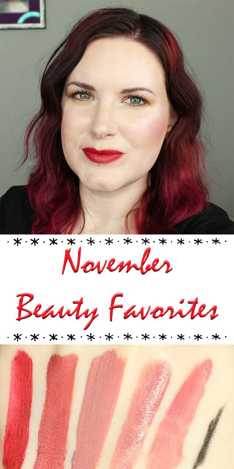 Chatty November Beauty Favorites