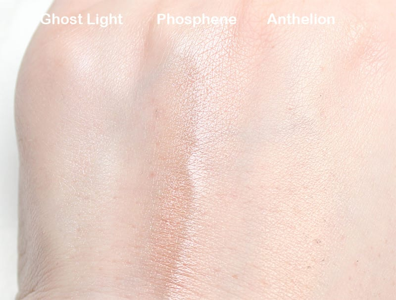 Rituel De Fille Rare Light Luminizers Review and Swatches on Pale Skin