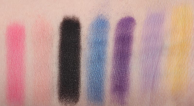 Senna 80's Vivid Excess Palette Swatches Review