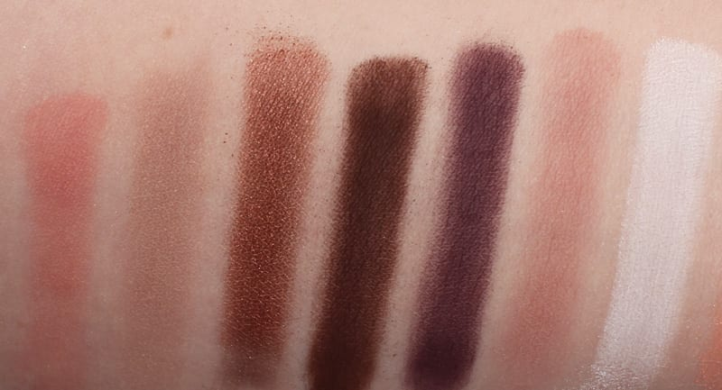Senna 90's Nude Revolution Palette Review Swatches