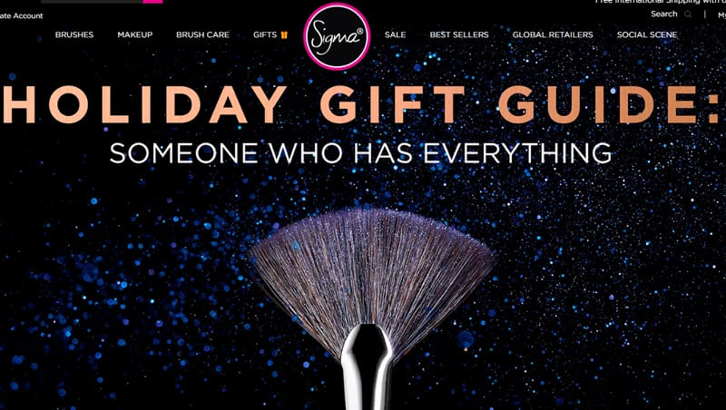 Sigma Beauty is Cruelty Free - They only sell makeup brushes in China
