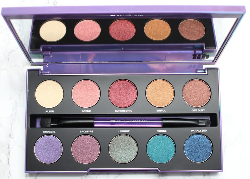 Urban Decay Afterdark Palette Review, Live Swatches, Dupes, Look