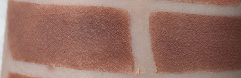 Silk Naturals Cocoa, dupe for Urban Decay Tempted swatch