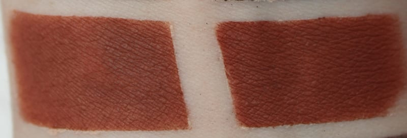 Silk Naturals Cognac, dupe for Urban Decay Bittersweet swatch