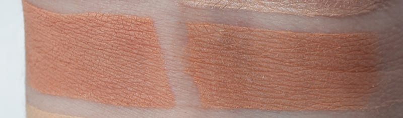 Silk Naturals Comfy, dupe for Urban Decay Nudie swatch