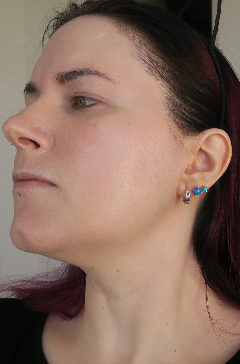 Idun Minerals Norrsken Liquid Foundation Review in Jorunn on Pale Skin