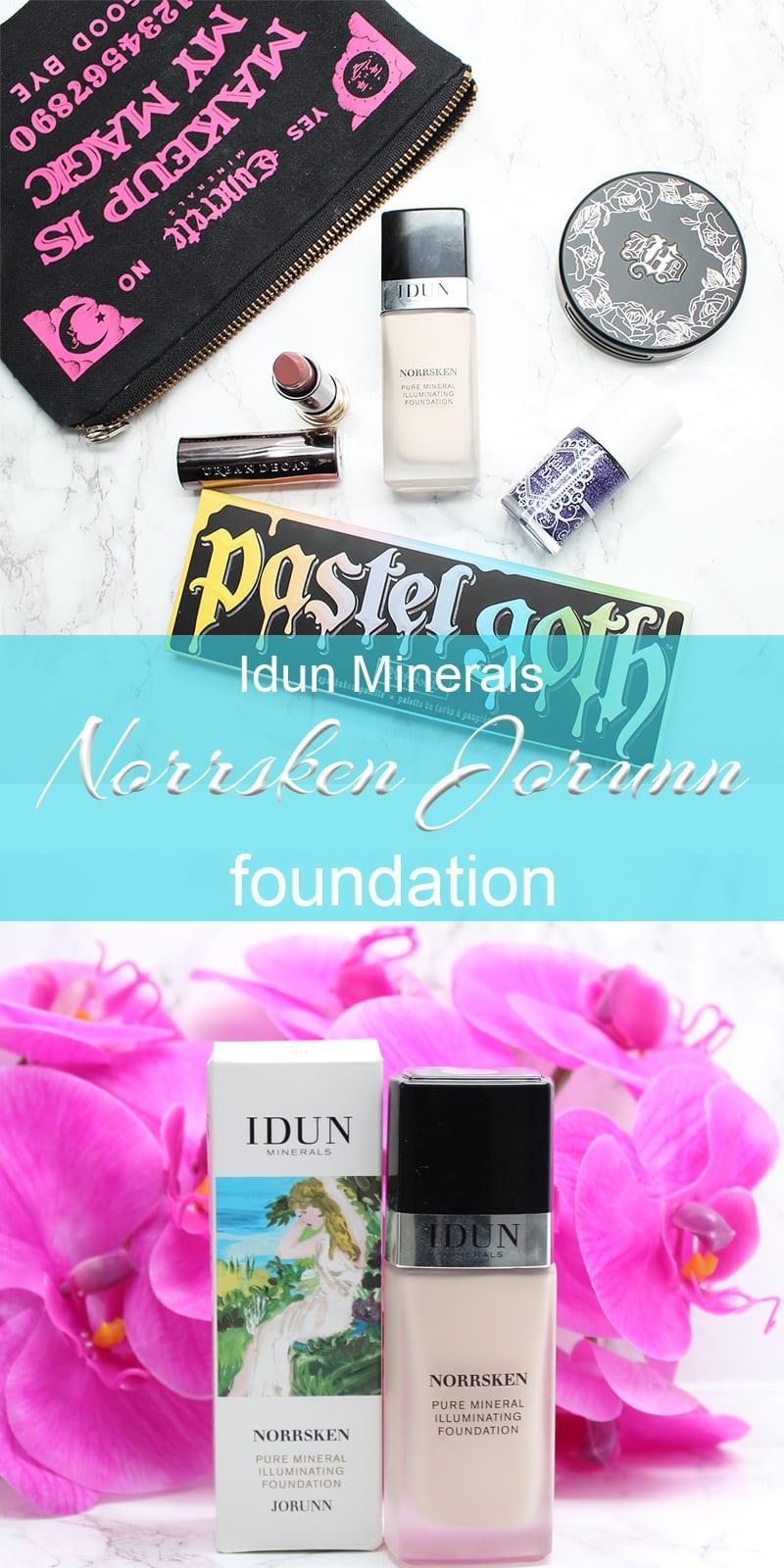 Idun Minerals Norrsken Liquid Foundation