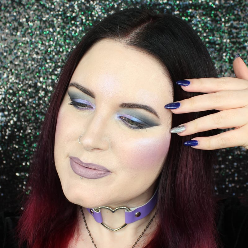 Kat Von D Pastel Goth Palette Swatches Review