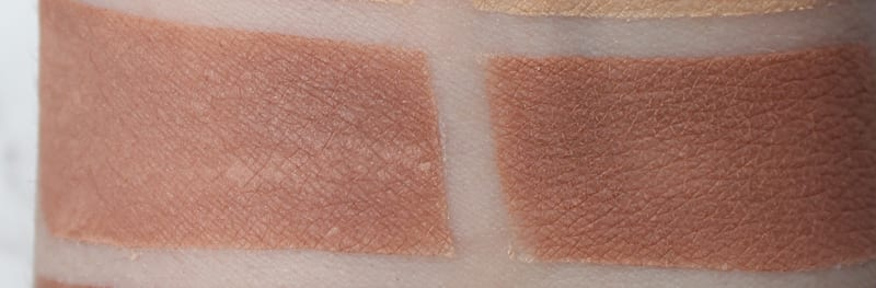 Silk Naturals Latte, dupe for Urban Decay Commando swatch