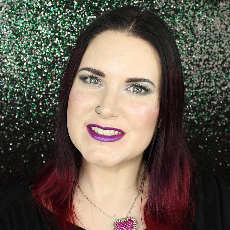 Urban Decay Vice Lipstick Mad swatch on pale skin