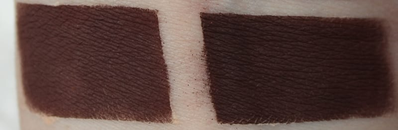 Silk Naturals Morsel, dupe for Urban Decay Punk and Lethal swatch