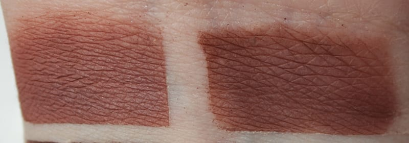 Silk Naturals Parallel, dupe for Urban Decay Instinct and Nooner swatch