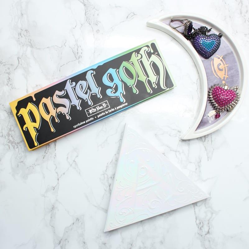 Kat Von D Pastel Goth Palette Review, Live Swatches, Look