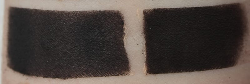 Silk Naturals Raven, dupe for Urban Decay Blackjack swatch