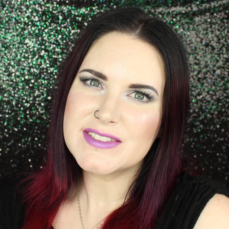 Urban Decay Vice Lipstick Twitch swatch on pale skin