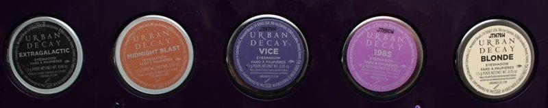 Urban Decay Spring 2017 Eyeshadow Singles