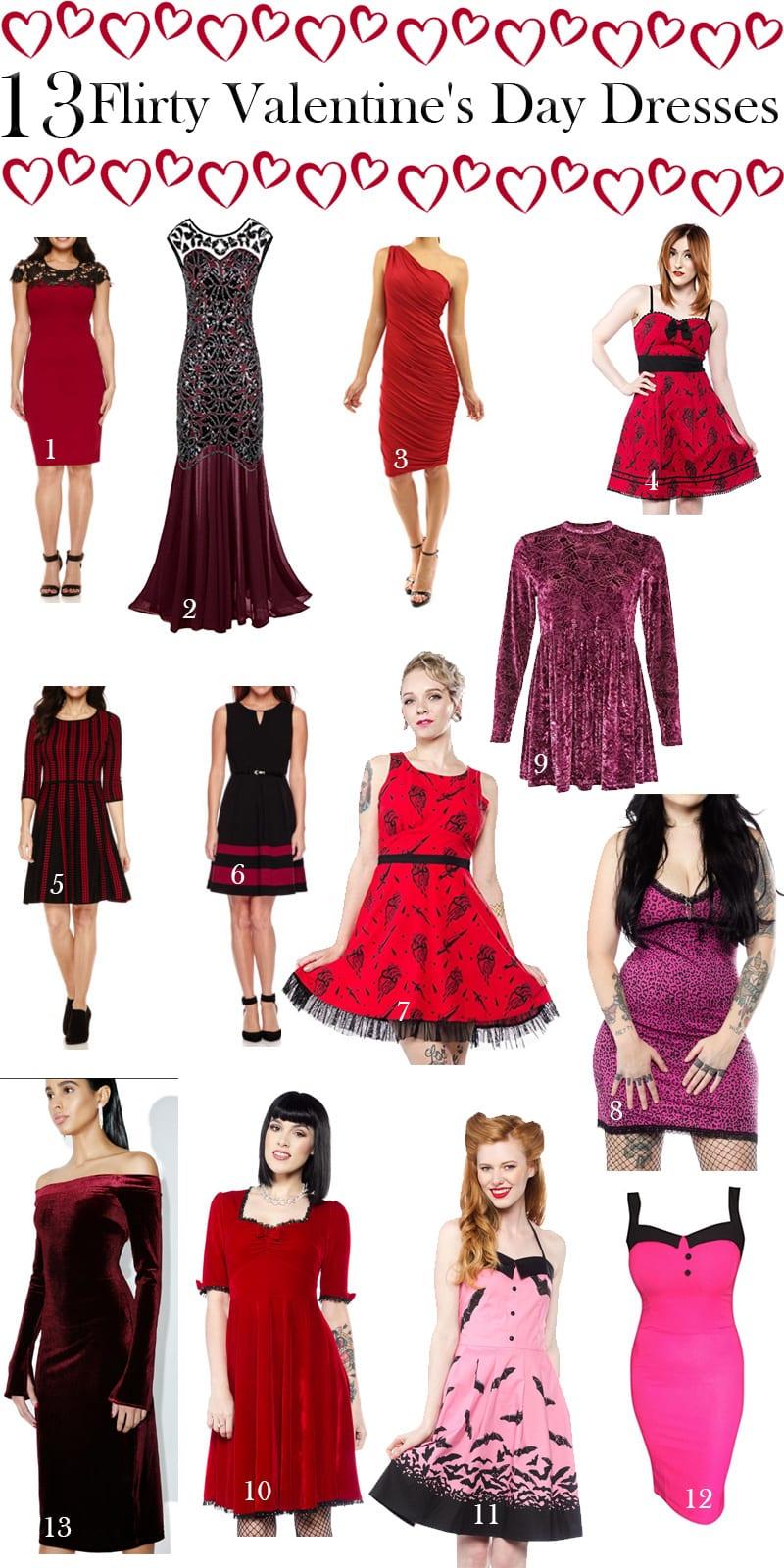 13 Flirty Valentine's Day Dresses