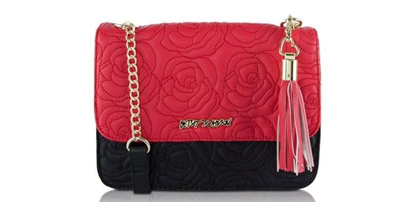 Betsey Johnson Red Rose Bag