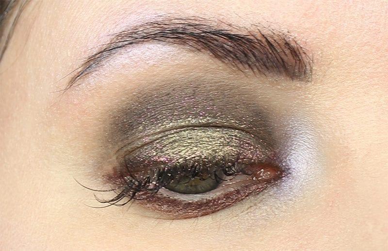 Makeup Geek Foiled Lip Glosses & Pigments Review Look - Wearing Blackmoon Cosmos, Makeup Geek Telepathy & Illusion