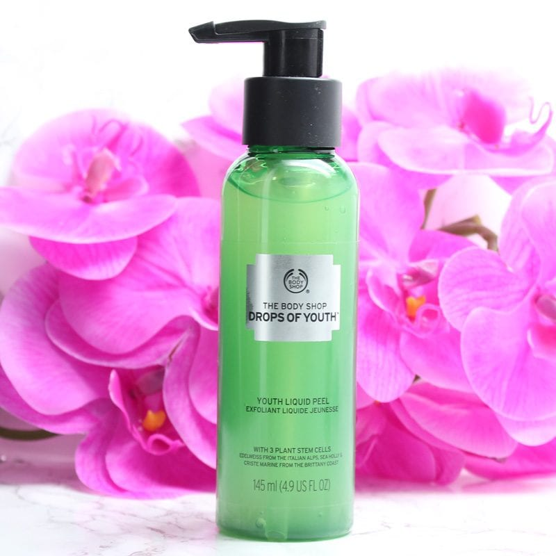 Best Face Masks for Dry Skin The Body Shop Drops of Youth Liquid Peel