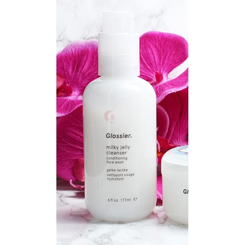 Top 5 Favorite Beauty Products from Glossier - Milky Jelly Cleanser