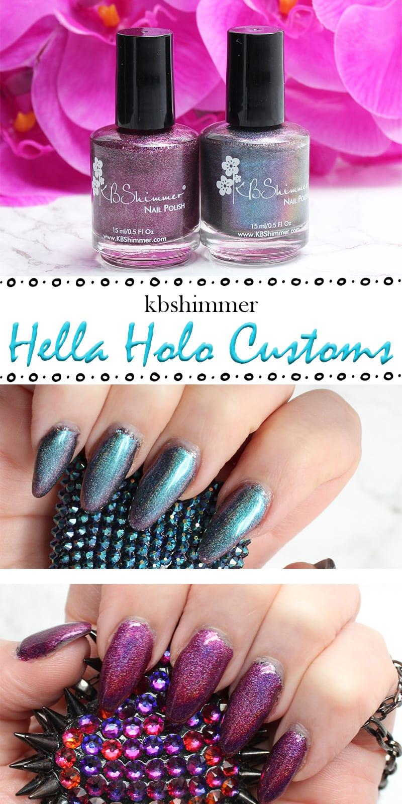 KBShimmer Hella Holo Customs Nail Polish
