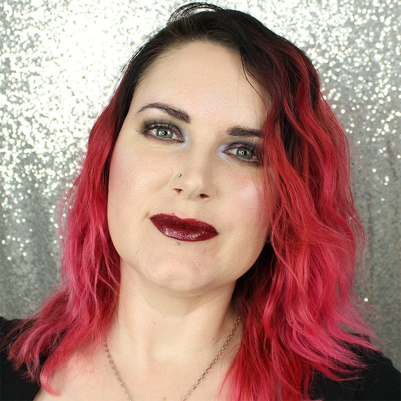 Makeup Geek Foiled Lip Gloss in Acoustic swatch