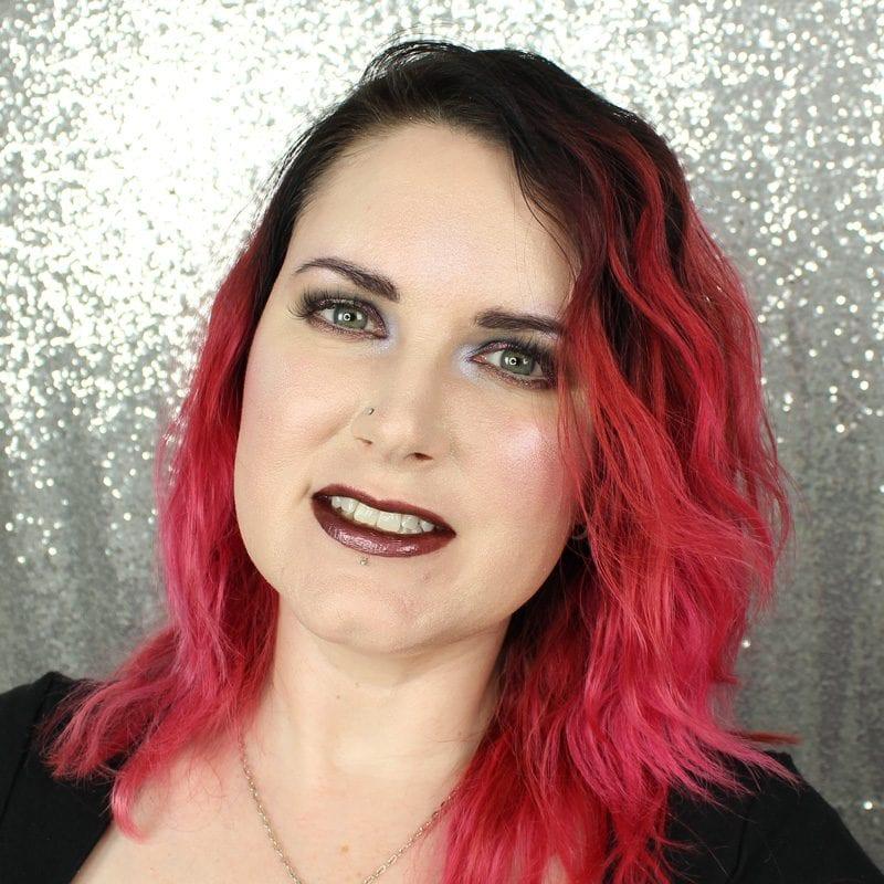 Makeup Geek Foiled Lip Gloss in Mixtape swatch
