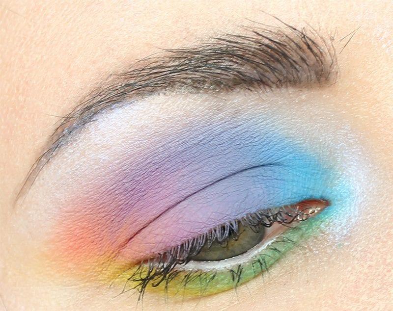 Kat Von D Pastel Goth Rainbow Tutorial