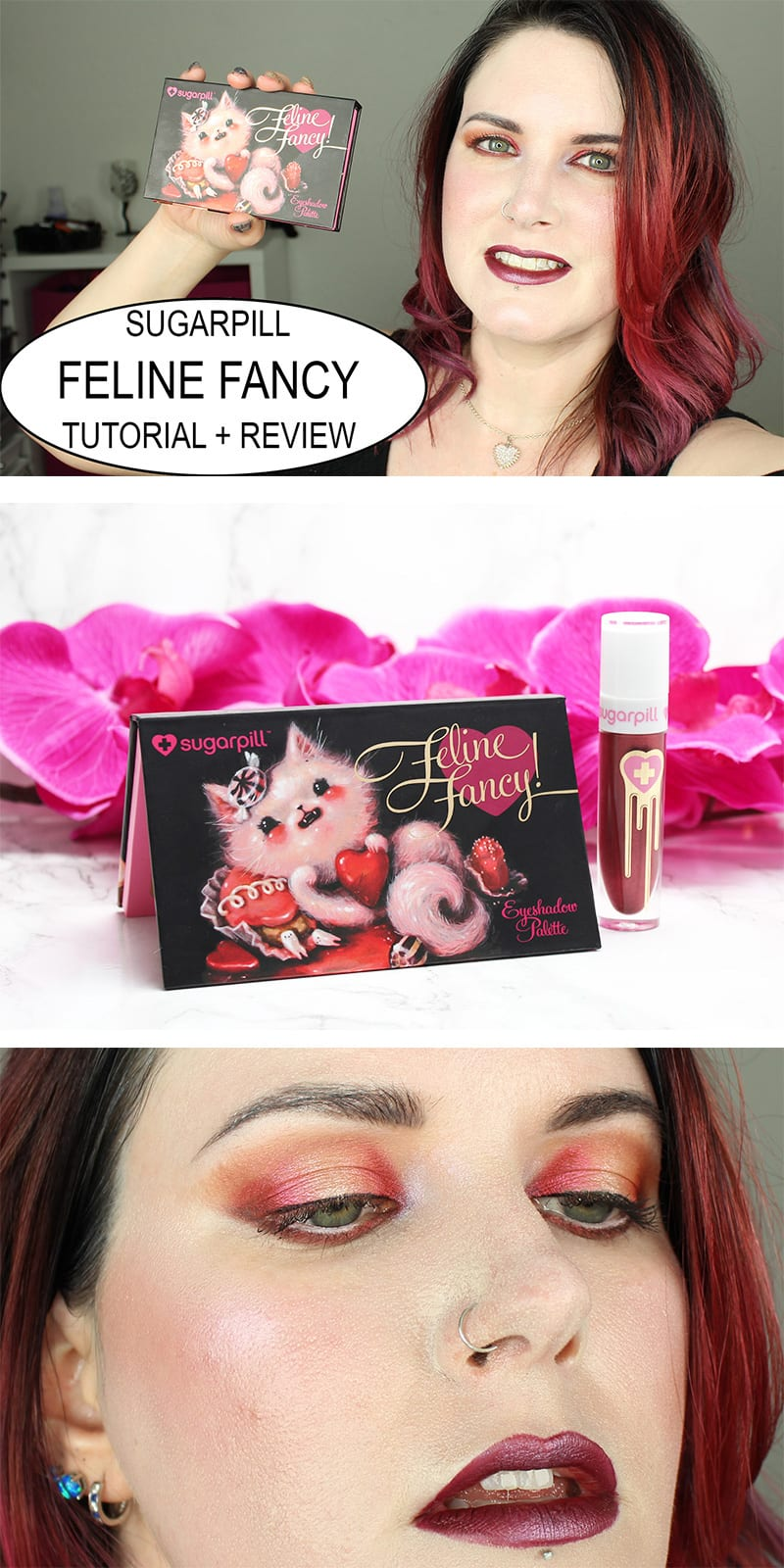 Sugarpill Feline Fancy Review and Tutorial