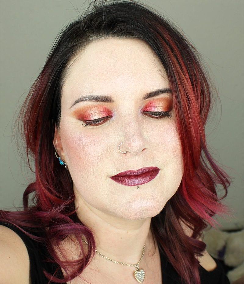 Sugarpill Liquid Lipstick in Strange Love Swatch