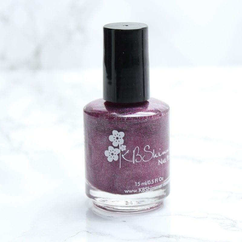KBShimmer Hella Holo Customs Nail Polish - Tall Pink of Water